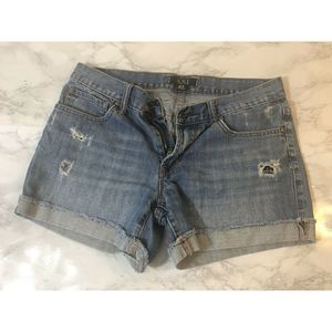 Forever 21 XXI Rolled Denim Shorts Size 27